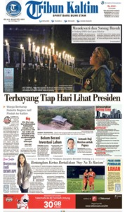 Tribun Kaltim Cover 20 August 2019