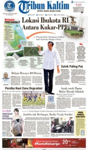 Tribun Kaltim Cover 23 August 2019