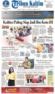Tribun Kaltim Cover 26 August 2019