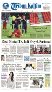 Cover Tribun Kaltim 11 September 2019