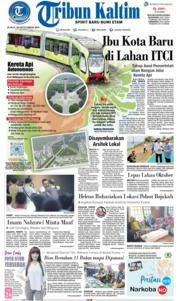 Cover Tribun Kaltim 20 September 2019