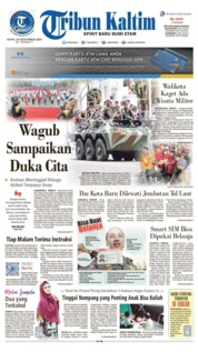 Cover Tribun Kaltim 23 September 2019
