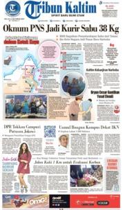 Tribun Kaltim Cover 08 October 2019