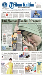 Tribun Kaltim Cover 13 October 2019