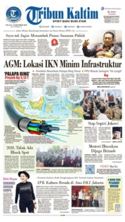 Cover Tribun Kaltim 15 Oktober 2019