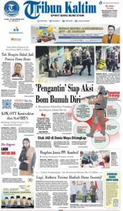 Tribun Kaltim Cover 16 October 2019