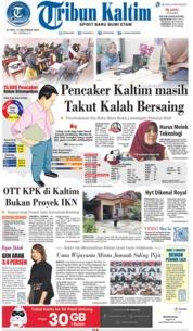 Tribun Kaltim Cover 17 October 2019