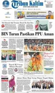 Tribun Kaltim Cover 19 October 2019