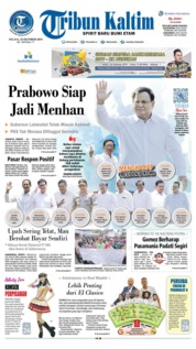 Tribun Kaltim Cover 22 October 2019