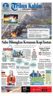 Tribun Kaltim Cover 23 October 2019