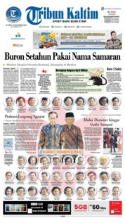 Tribun Kaltim Cover 24 October 2019