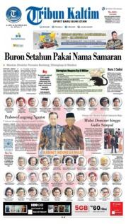 Cover Tribun Kaltim 24 Oktober 2019