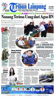 Tribun Lampung Cover 15 November 2018