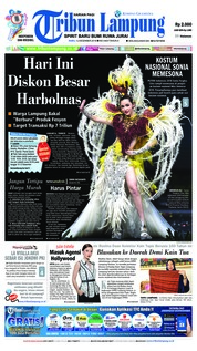 Cover Tribun Lampung 12 Desember 2018
