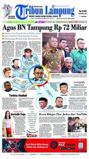 Tribun Lampung Cover 14 December 2018