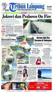 Tribun Lampung Cover 17 January 2019