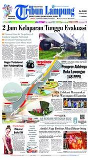 Tribun Lampung Cover 17 February 2019