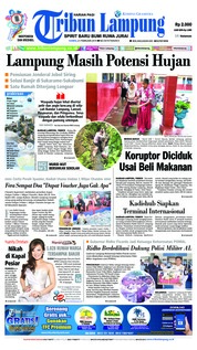 Tribun Lampung Cover 21 February 2019