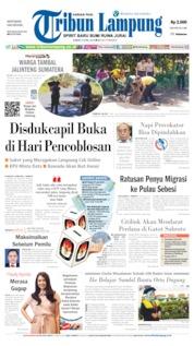 Cover Tribun Lampung 05 April 2019