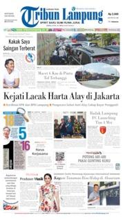 Cover Tribun Lampung 08 April 2019