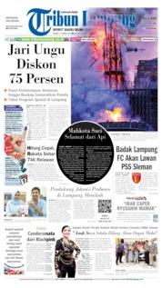 Tribun Lampung Cover 17 April 2019
