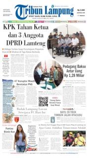 Tribun Lampung Cover 30 April 2019