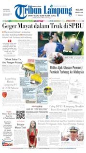 Tribun Lampung Cover 02 May 2019