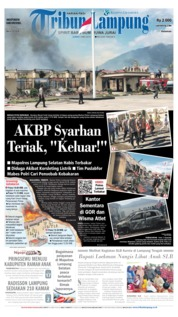 Tribun Lampung Cover 03 May 2019