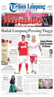 Tribun Lampung Cover 05 May 2019