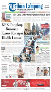 Tribun Lampung Cover 06 May 2019
