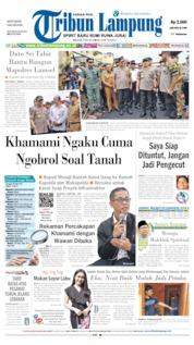 Tribun Lampung Cover 07 May 2019