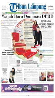 Tribun Lampung Cover 08 May 2019