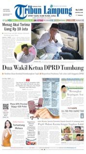 Tribun Lampung Cover 09 May 2019