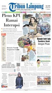 Tribun Lampung Cover 10 May 2019