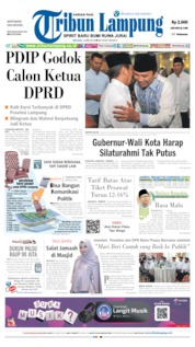 Tribun Lampung Cover 14 May 2019