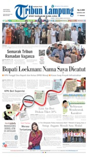 Tribun Lampung Cover 17 May 2019