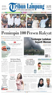 Tribun Lampung Cover 22 May 2019