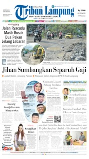 Tribun Lampung Cover 27 May 2019
