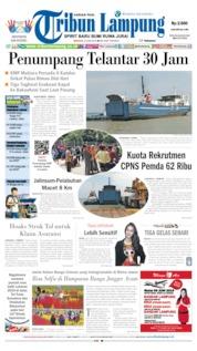 Tribun Lampung Cover 09 June 2019