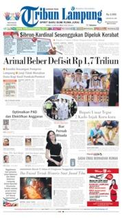 Cover Tribun Lampung 14 Juni 2019