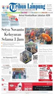 Cover Tribun Lampung 17 Juni 2019