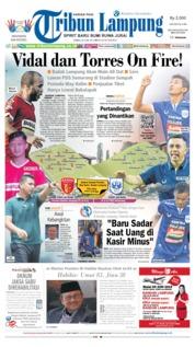 Cover Tribun Lampung 26 Juni 2019
