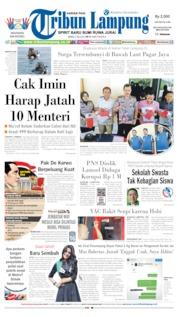 Tribun Lampung Cover 03 July 2019