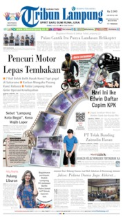 Tribun Lampung Cover 04 July 2019