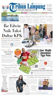 Tribun Lampung Cover 05 July 2019