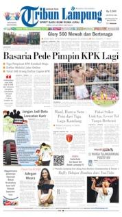 Tribun Lampung Cover 06 July 2019