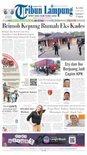 Tribun Lampung Cover 08 July 2019