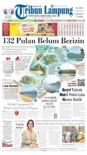 Cover Tribun Lampung 11 Juli 2019