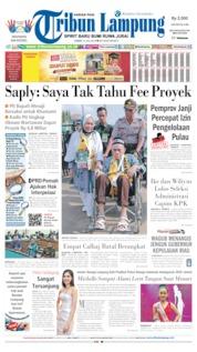 Cover Tribun Lampung 12 Juli 2019