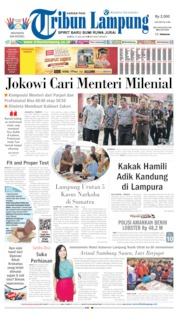 Tribun Lampung Cover 13 July 2019